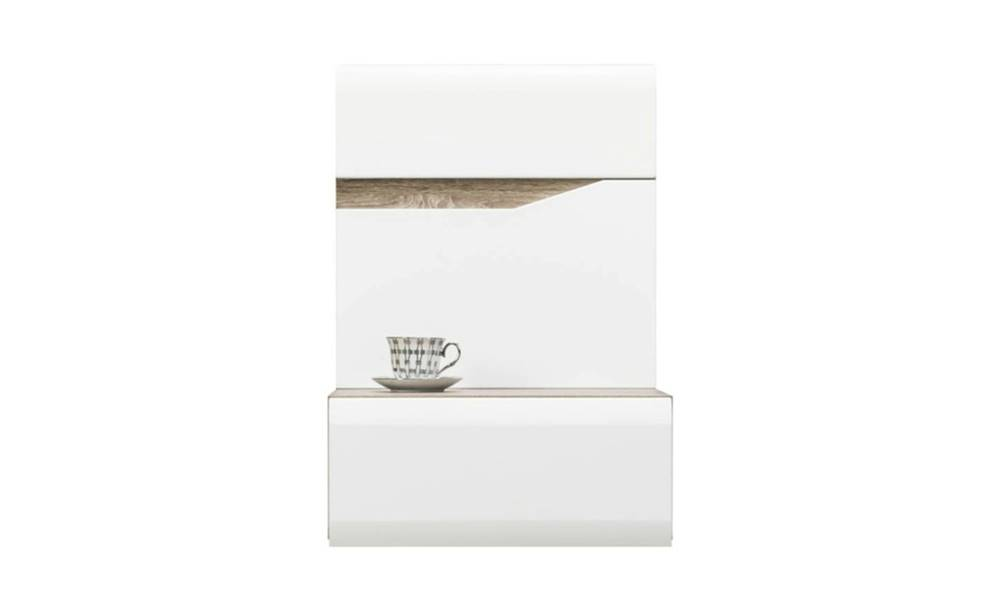 Sconto Nočný stolík LUCY 15 P biela, pravá