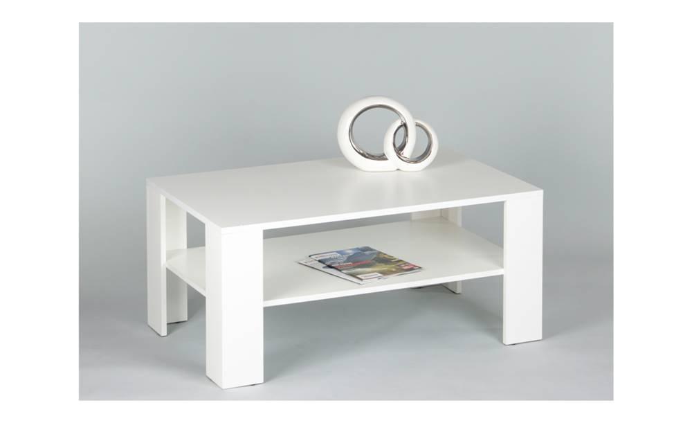 Sconto Konferenčný stolík JOKER 66 biela