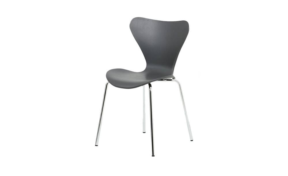 Sconto Jedálenská stolička ALBA sivá