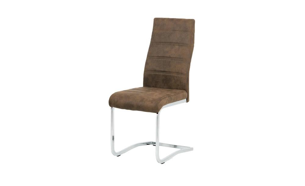 Sconto Jedálenská stolička CAROL hnedá