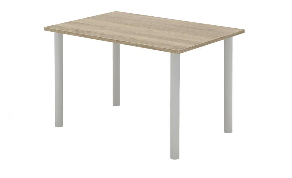 Sconto Písací stôl RIO 228 dub sonoma/sivá