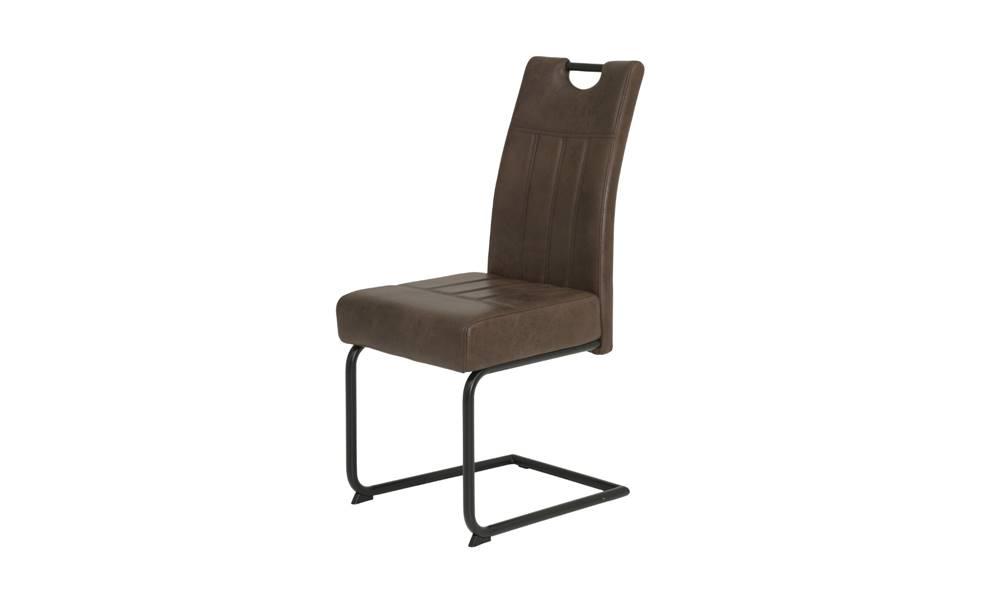 Sconto Jedálenská stolička BETTY S hnedá
