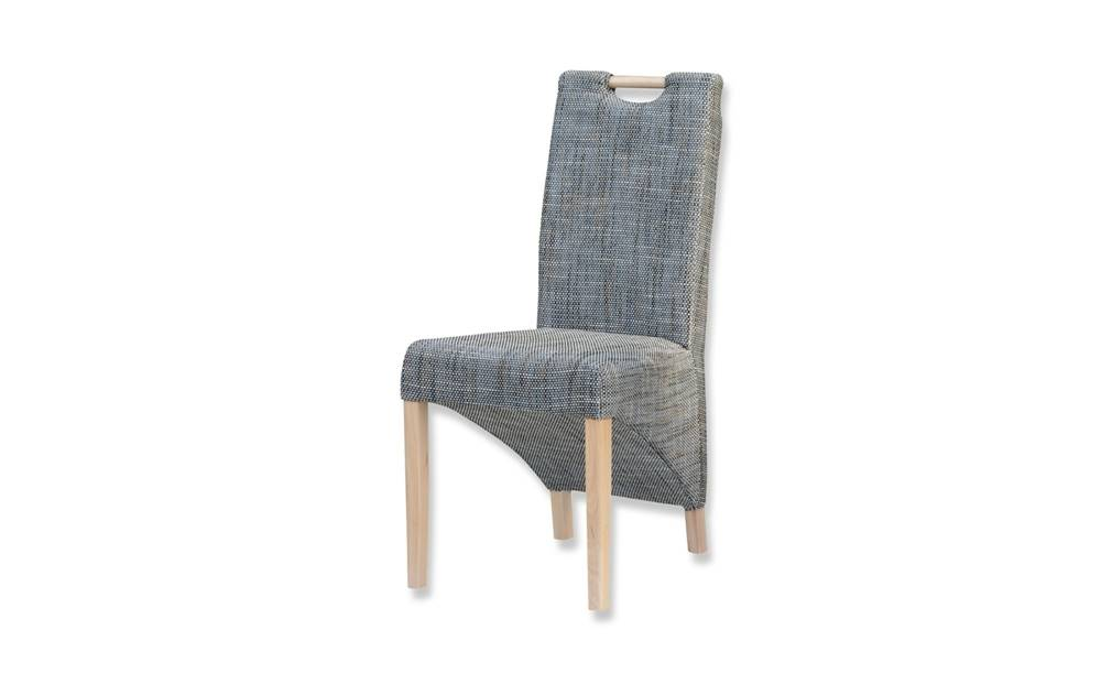 Sconto Jedálenská stolička BIANCA sivá