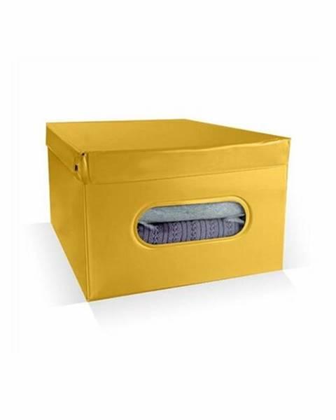 Žltý úložný box Compactor